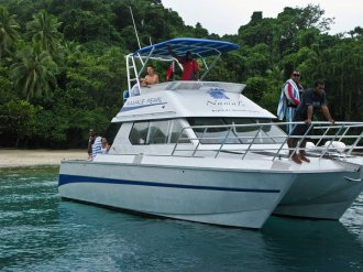 Namale Dive Boat.