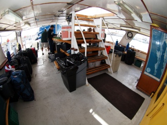 Solmar V Dive Deck.