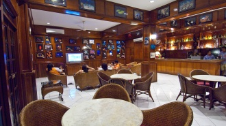 Bar and Lounge Area.