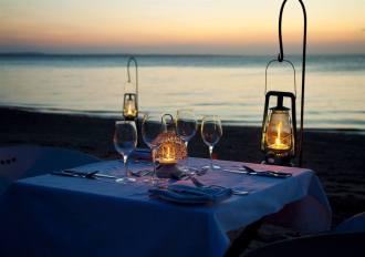 Beach Dinner.