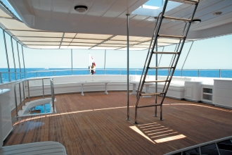 Blue Fin Top Deck