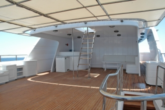 Blue Fin Top Deck with Bar.