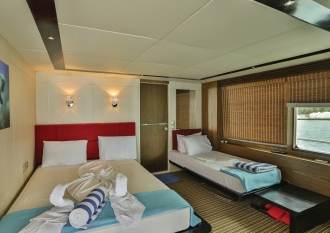 Ocean View Suite Cabin.