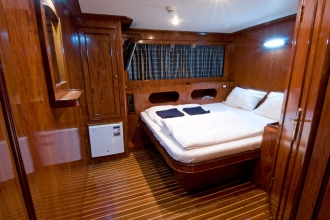 Blue Horizon Double Cabin.