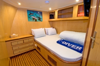 Blue Voyager Double Cabin.
