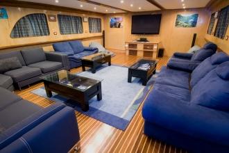 Blue Voyager Sky Lounge.