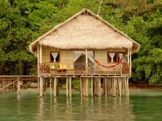 Papua Paradise Bungalow.