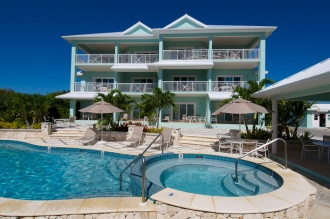 Compass Point Condos with swimming pool.