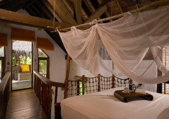 Crusoe Villa bedroom.