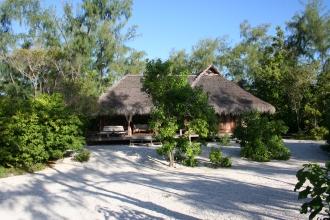 Villa from the beach.