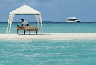 Spa Services on board or on your own island.
