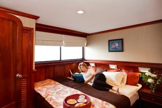 Luxury Cabins.