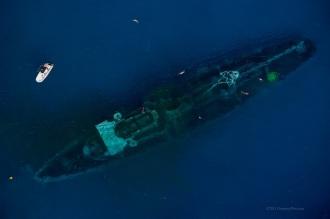 USS kittwake.