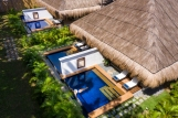 Premium Pool Suites aerial sideview