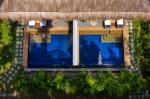 Premium Pool Suites close-up aerial