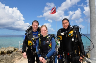 Rebreather training available.