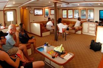Sea Hunter Lounge.