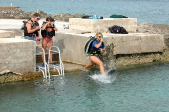 Shore Diving.