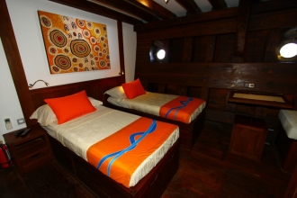 Luxury Stateroom.