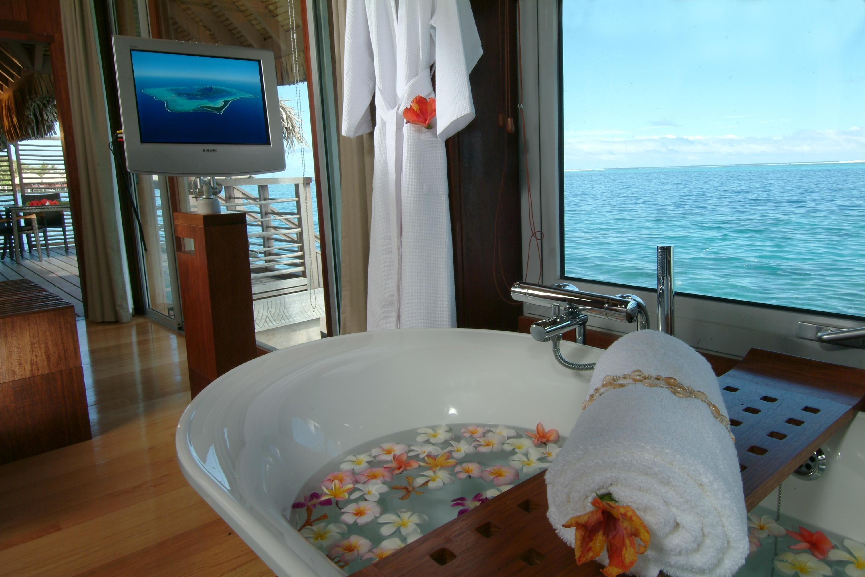 Intercontinental Bora Bora Resort Faces Of The Sea Scuba
