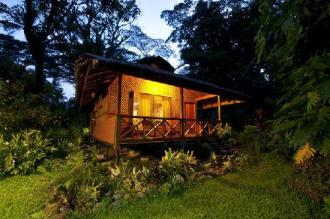 Walindi Plantation Resort Bungalow.