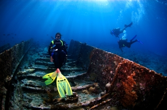 Explore Ship Wrecks large and small.