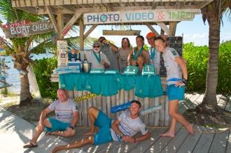 Staff at Ocean Frontiers.