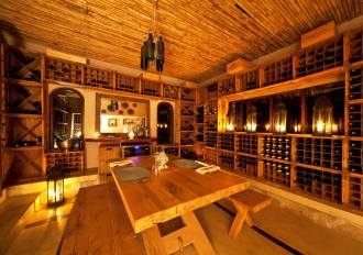 Wine Cellar Private Dining.
