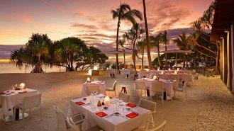 Beach Dining.