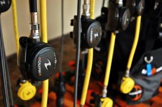 Aqua Lung Rental Equipment.
