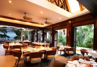 Abaca Restaurant.
