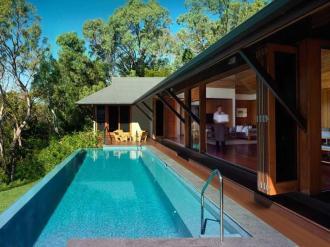 Beach House Private Lap Pool.
