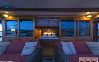 Cabin # 6 balcony.