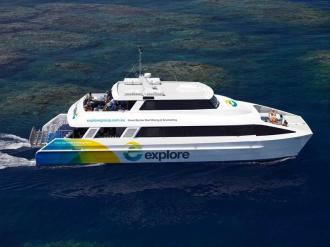 Explore the Great Barrier Reef.