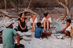 Aqua Blu_Guests on Beach