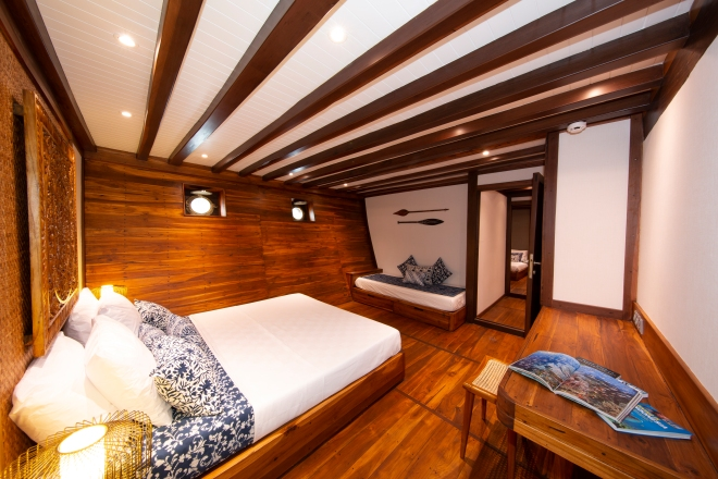 Coralia Liveaboard Lower Deck Double Cabin 2