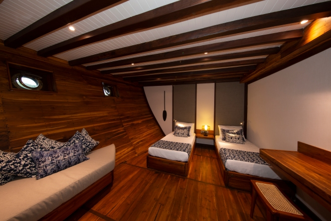 Coralia Liveaboard Lower Deck Twin Cabin 1