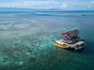 Manta Ranger Station 1 - Papua Explorers - by ArtAndWater